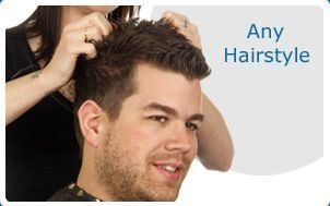 This exclusive collection of men's hair replacement