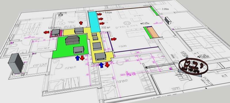 פגישת יעוץ אישית להתאמת מערכת המיזוג ועיצוב הגבס