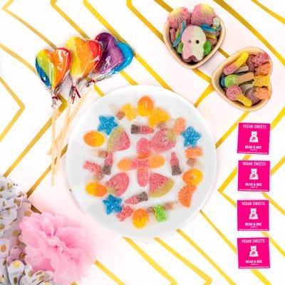 Vegan pick 'n' mix sweets