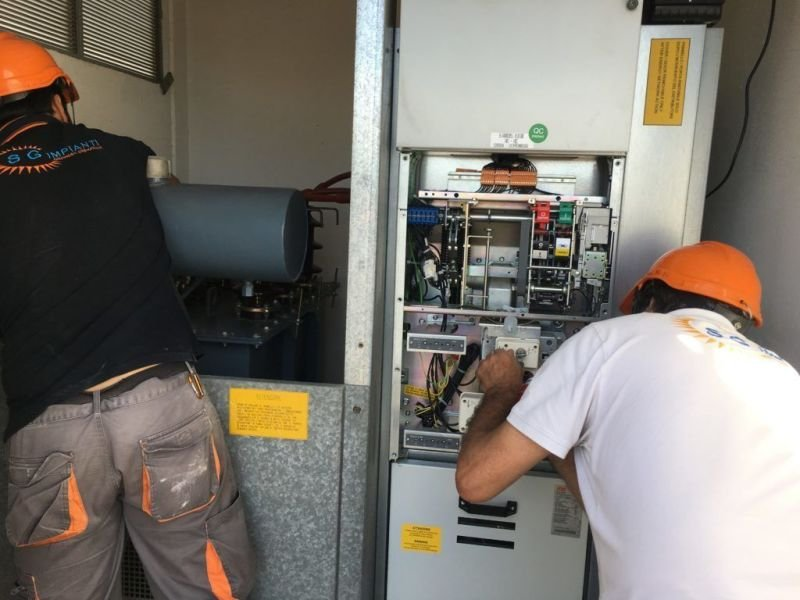 Manutenzione Elettrica cabina ti trasformazione MT/BT secondo normativa CEI 78-17