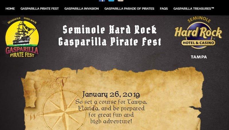 Gasparilla Pirate Parade