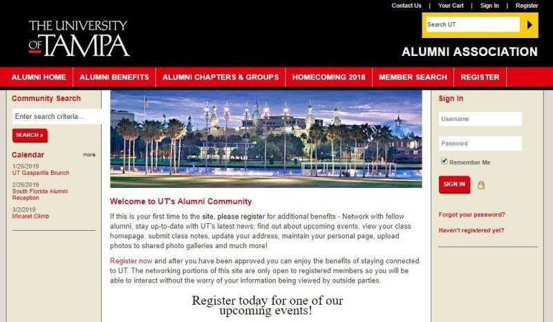 University of Tampa Alumni