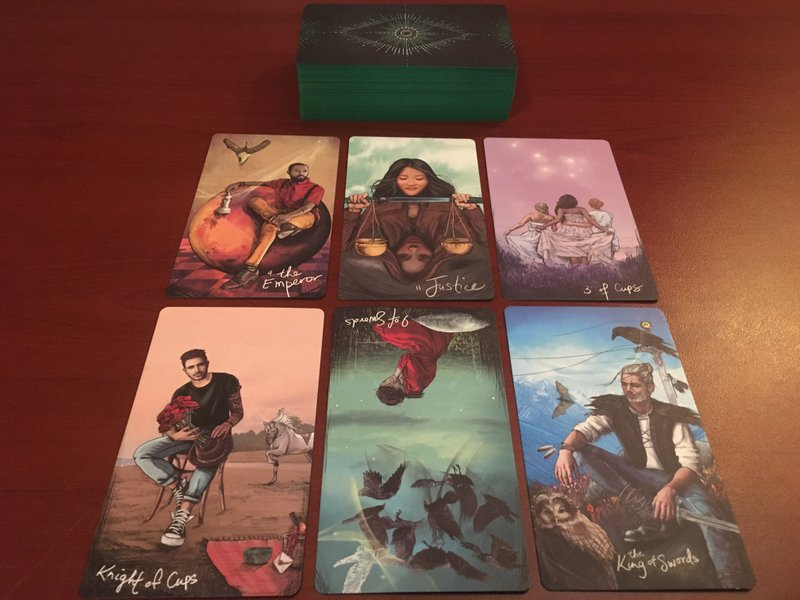 My Soul Deck - The Light Seers Tarot by Chris Anne Donnely