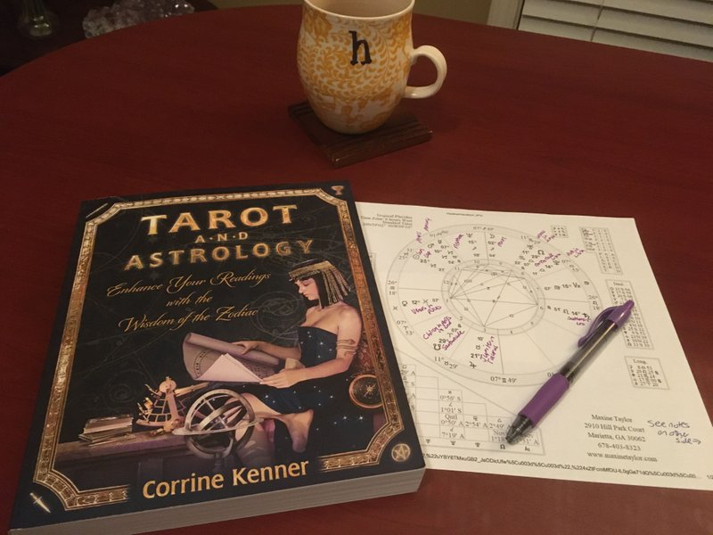 Favorite book for learning about both tarot and astrology
