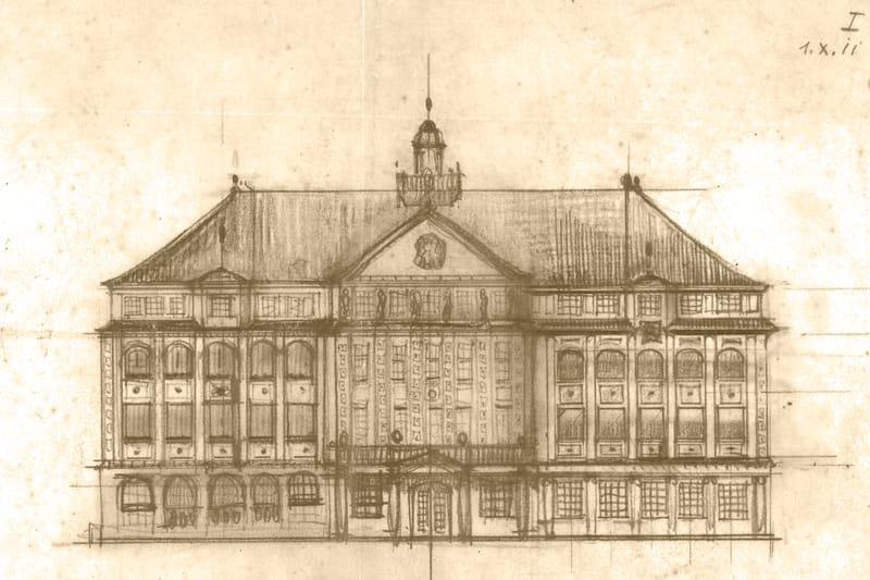 1912 Baupläne (nicht verwirklicht)