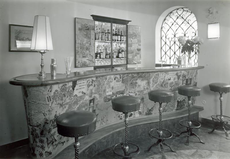 Alte Bar 1960 bis 1980 Jahre