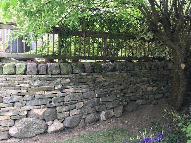 Retaining Garden Wall