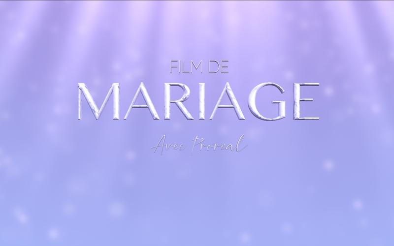 MON FILM DE MARIAGE... MY WONDERFUL MEMORY !