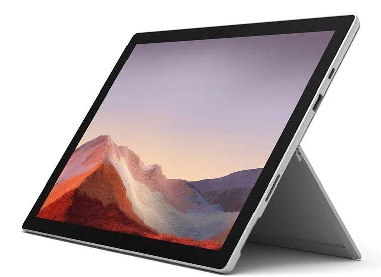 Surface Pro 7 Black & Platinum