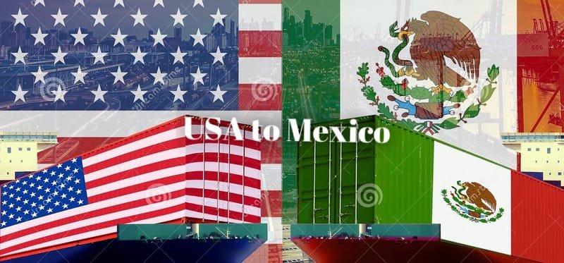 USA to Mexico