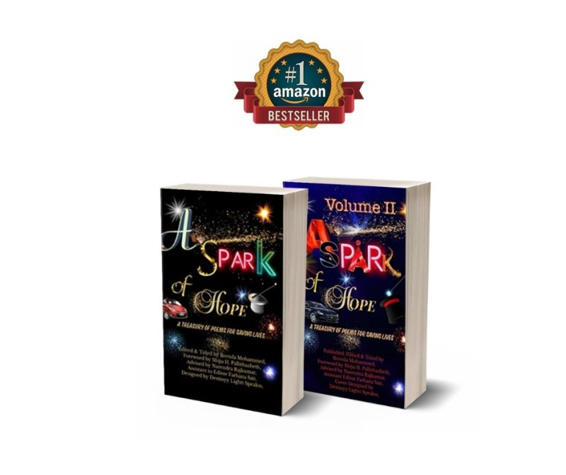 A SPARK OF HOPE: A TREASURY OF POEMS FOR SAVING LIVES Amazon Best sellers No 1