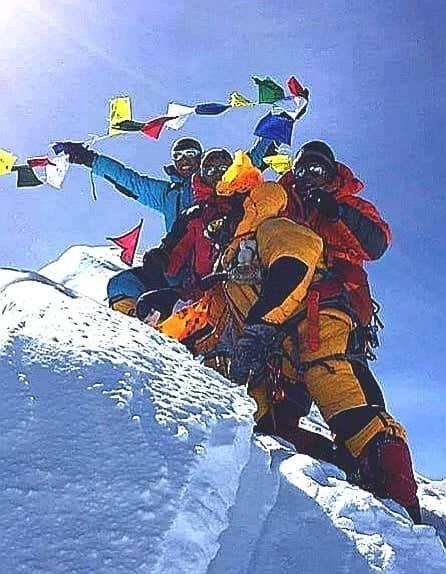 Great succes Makalu Extreme Treks Expedition team at Msnaslu 8163 international expedition  2017, 2018,2019