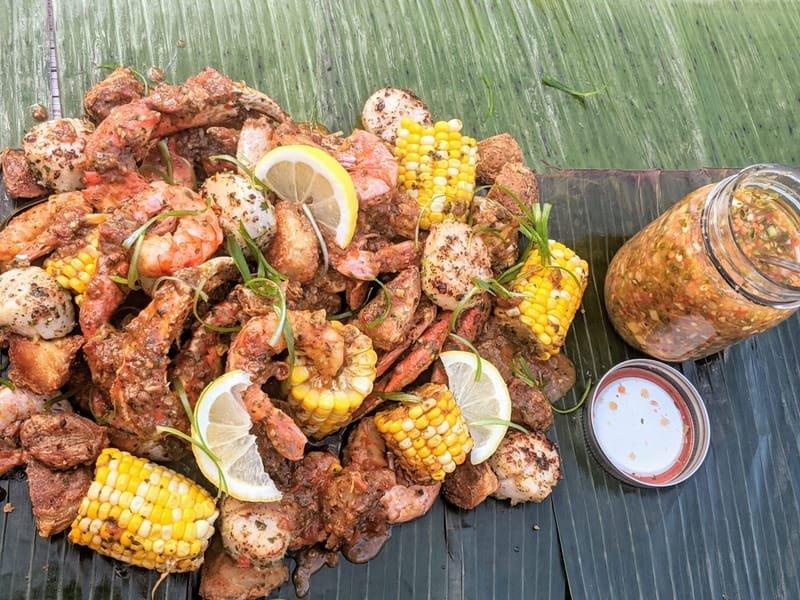 Cajun Seafood Boil