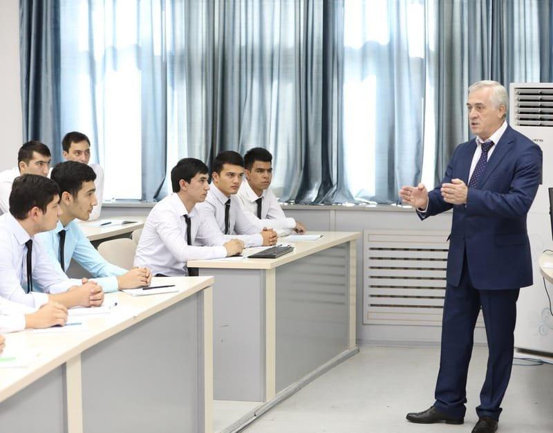 Направление и количество студентов