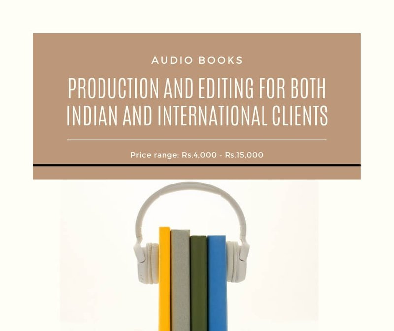 Audiobooks Production and Editing
