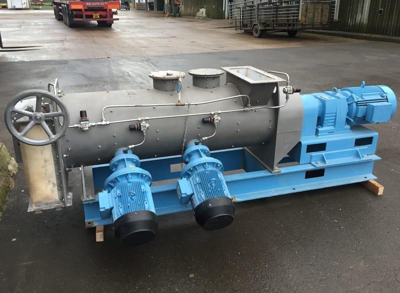 Morton Ploughshare mixer
