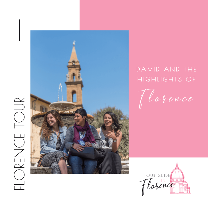 DAVID AND THE HIGHLIGHTS OF FLORENCE.