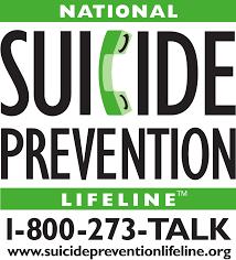 National Suicide Prevention Lifeline (English, & Spanish)