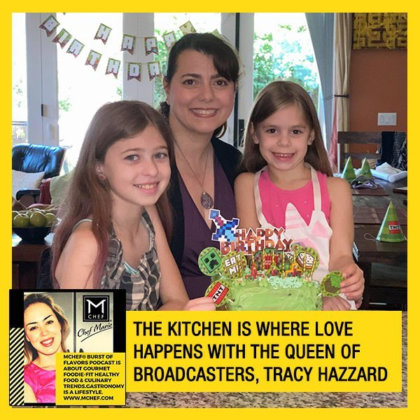 The Kitchen Is Where Love Happens With The Queen Of Broadcasters, Tracy Hazzard