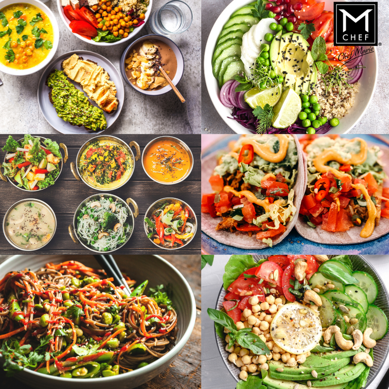 Weekly Menu Food Preparation by Chef Marie - Private Chef Services