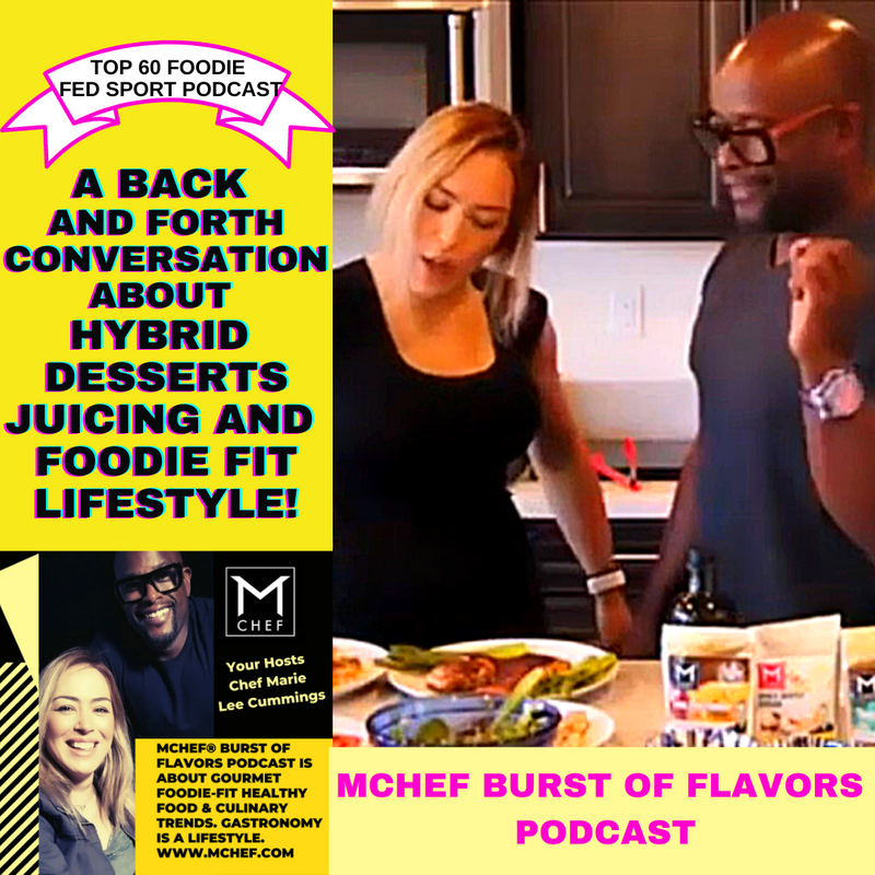 A back and forth conversation about hybrid desserts, juicing and foodie fit lifestyle!