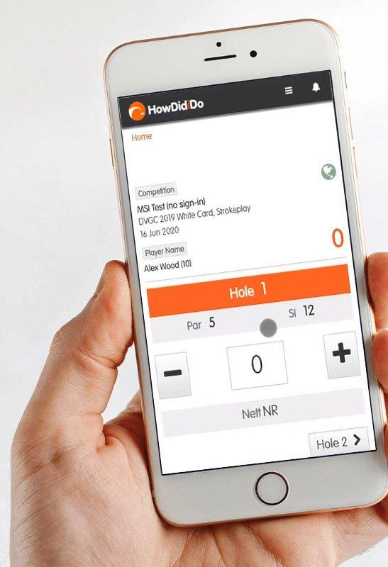Mobile Score Input (MSi)