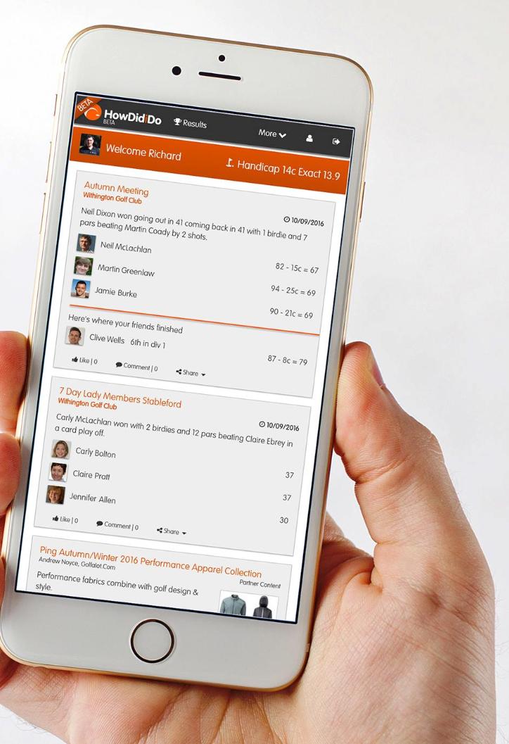 HowDidiDo Social Website & App