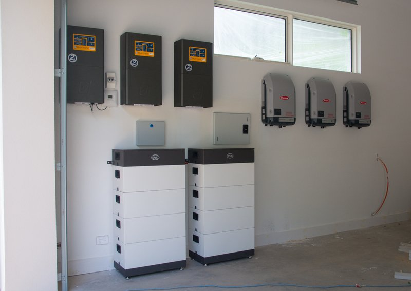 Rostrevor New Build Home Hybrid System