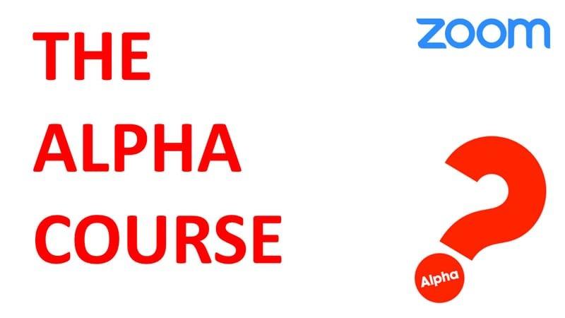 6/14 (月)(19:30) Alpha Course (on Zoom)