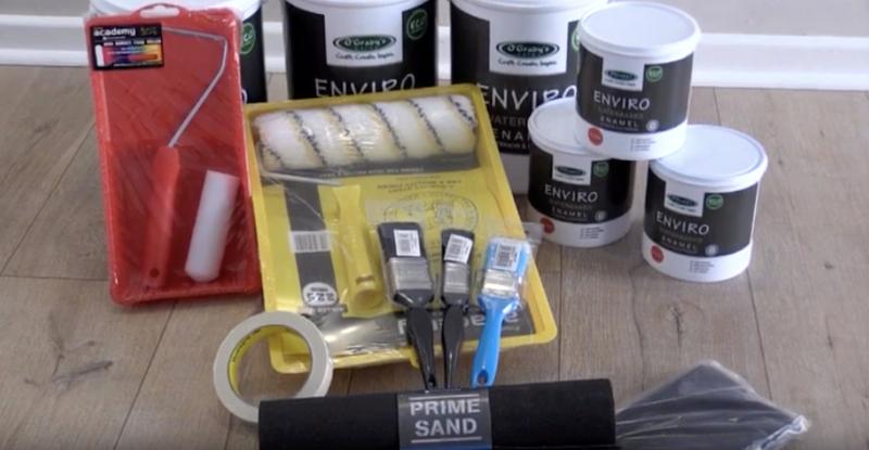 Video : O'Grady Enviro Waterbased Enamel