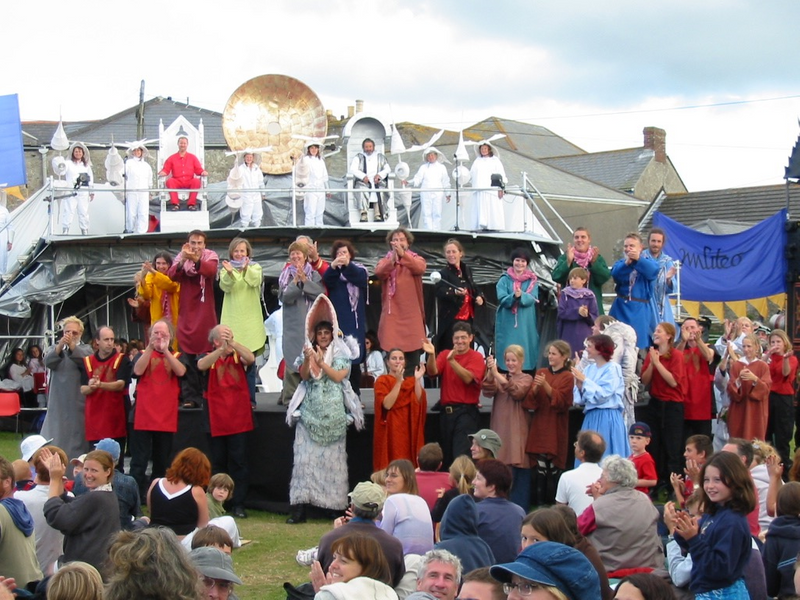 A festival celebrating Cornish culure and heritage