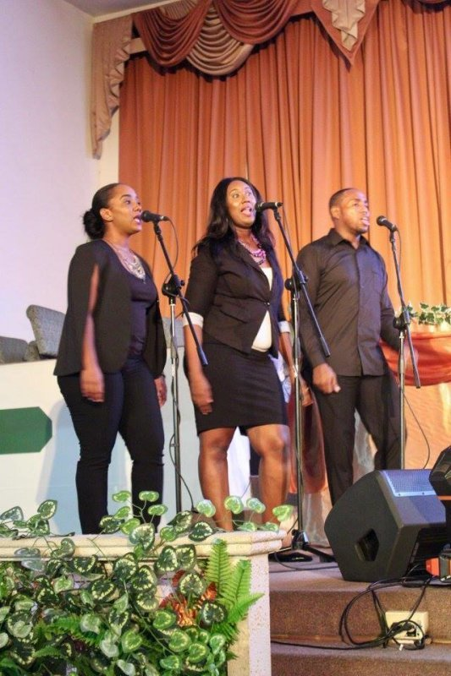 Background vocal team