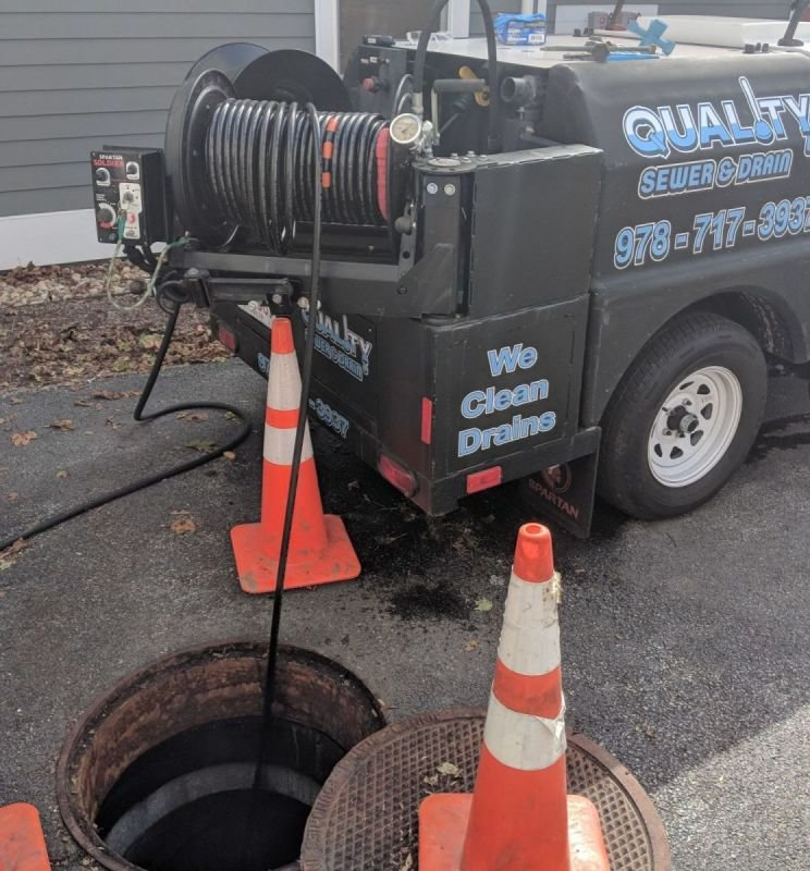 Hydro Jetting Sewer Cleaning