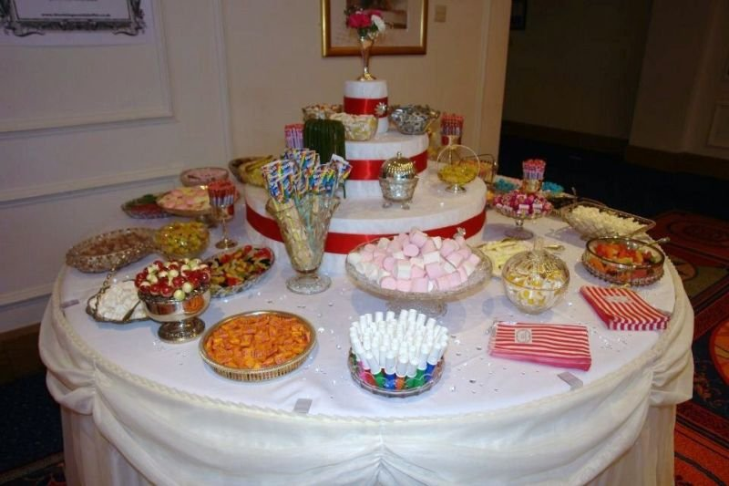 Vintage Candy Buffets