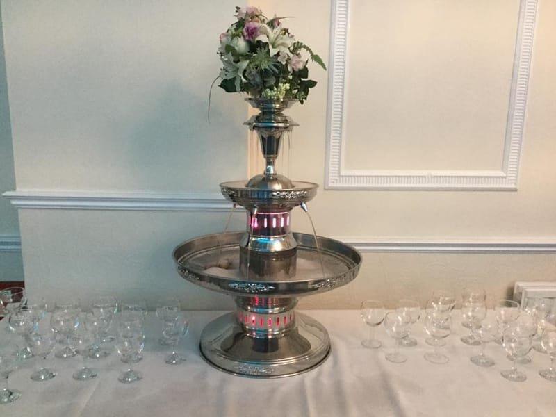 Champagne or Baileys Fountain