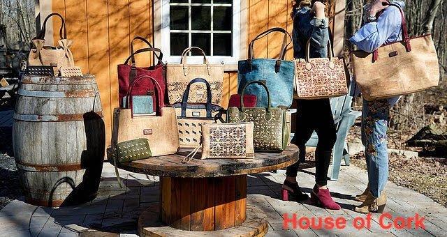 Cork Handbags with Lisa
