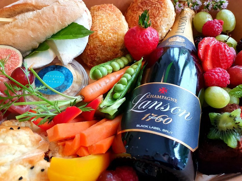 it's all about the P's - platters & pinchos posh picnic box