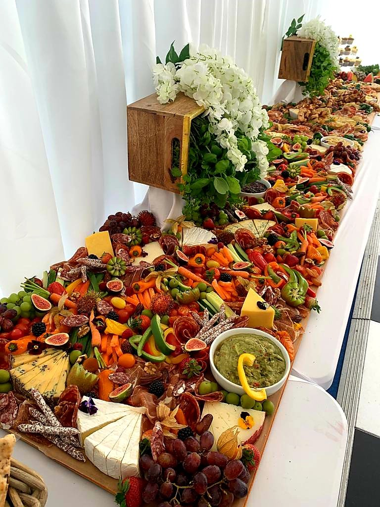 Platters & Pinchos Grazing Tables