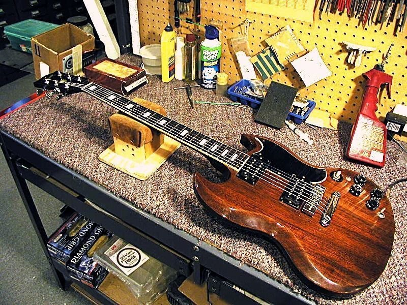 Repairs and instrument services