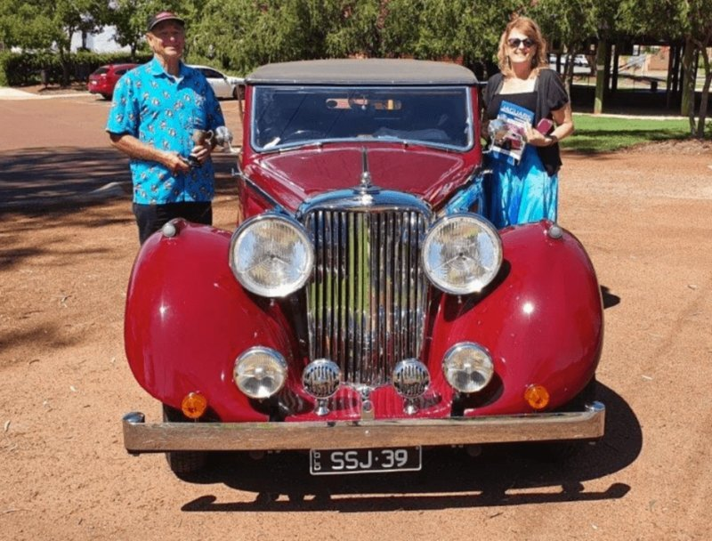 Rod & Sue Greasley's Epic Trip to the WA Rally