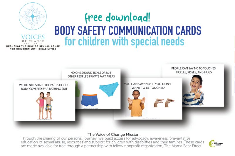 Communication Cards for children with disabilities