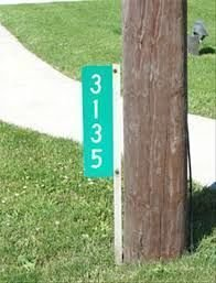 Address Signs