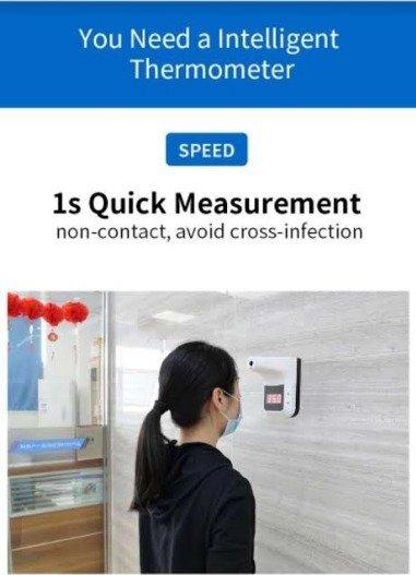 Covid temperature screening solution.