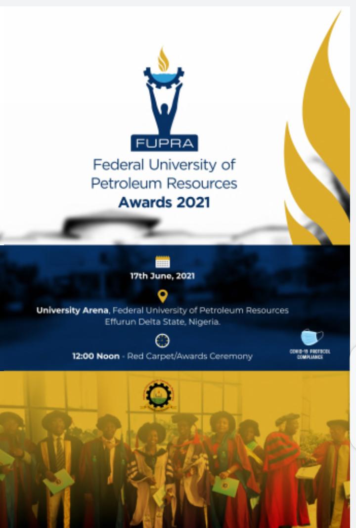 Federal University of Petroleum Resources Awards.