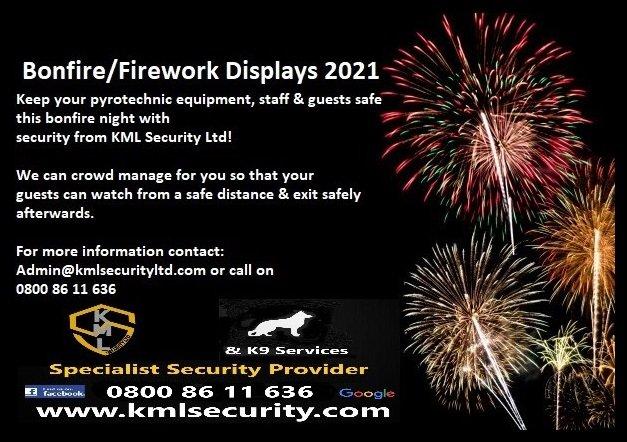 Guy Fawkes Night/Firework Displays
