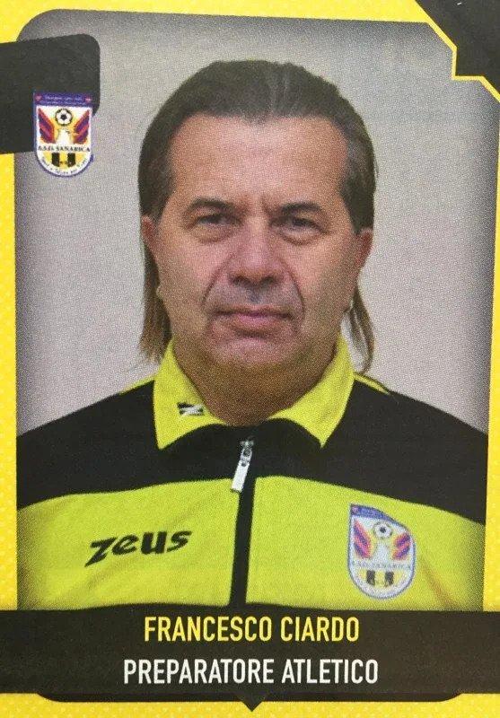 Prof. Francesco Ciardo Allenatore Calcio a 5 Open Maschile