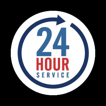 24 Hour Availability