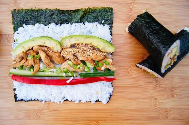 Happy Wrap Маки Суши с Кая Кестенов Йогурт