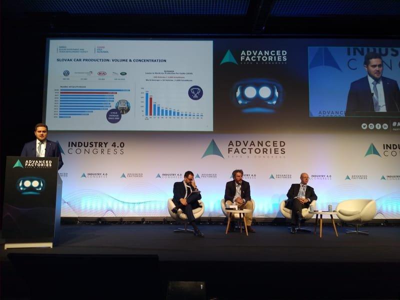 SARIO na Advanced Factories 2020 v Barcelone