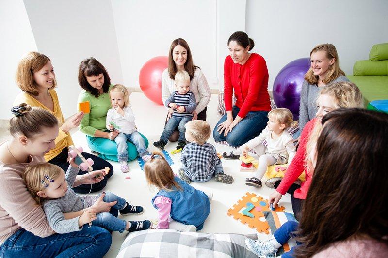 """Групповые занятия для мам и малышей от 1 года до 2 лет """"Мой малыш"""""""